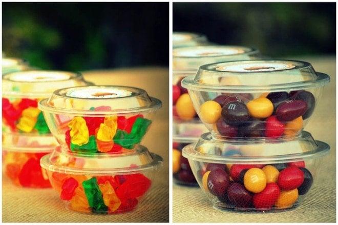 fall movie night candy