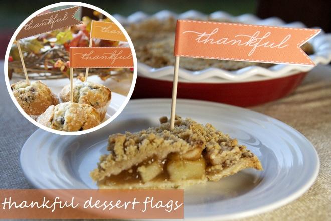 free thanksgiving flag printables