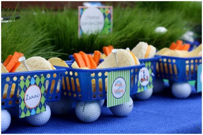 golf birthday party 2