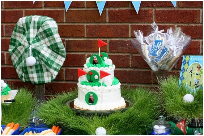 Isaac's Golf-Themed 2nd Birthday Party!