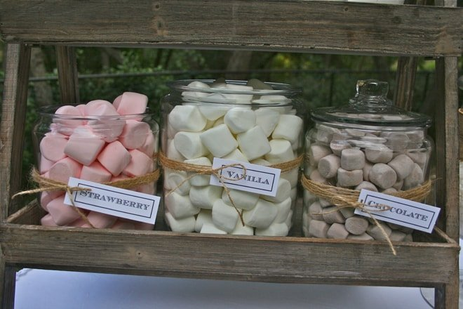 marshmallow flavors for smores bar picture