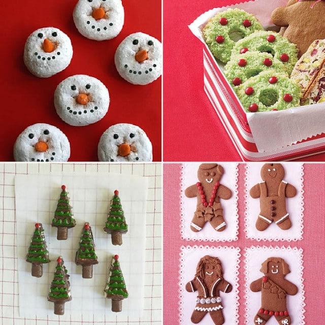mini bite size christmas holiday dessert recipes