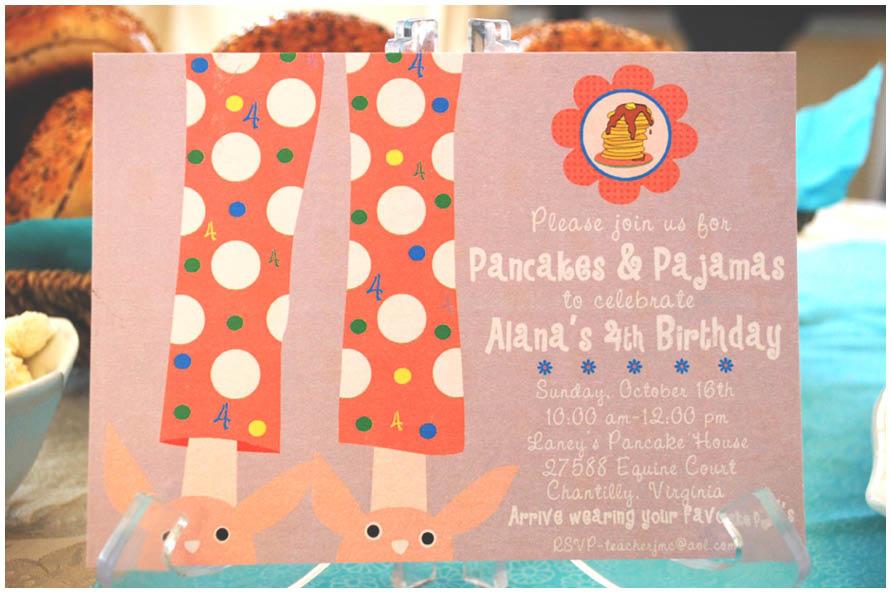Pancakes And Pajamas Party Pizzazzerie