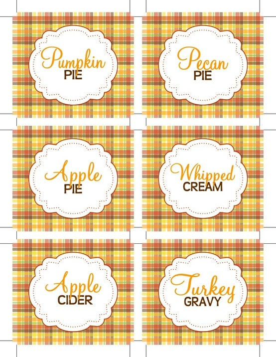 pumpkin pie tags