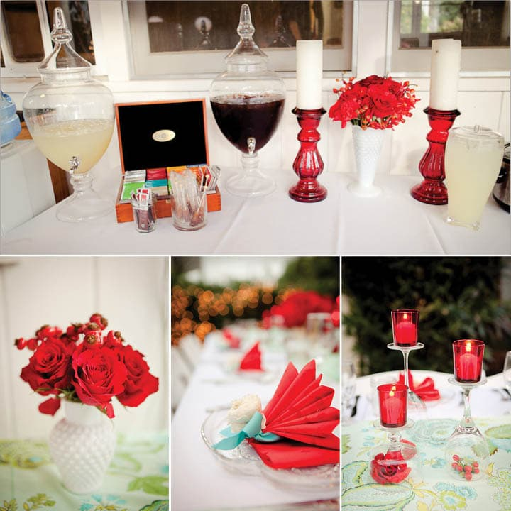 red and aqua holiday party picture 4