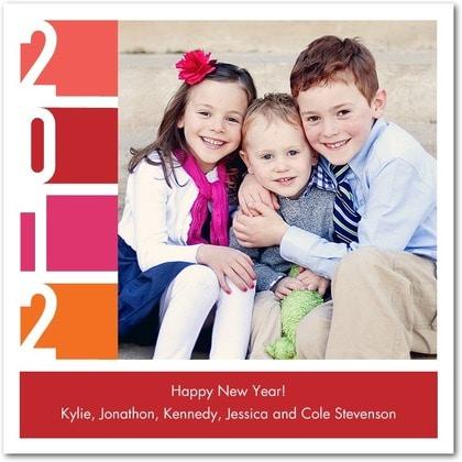 New Years Photo Card