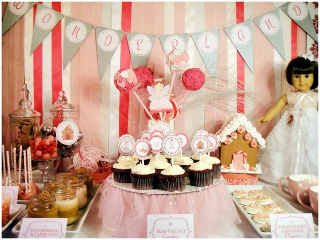 A Fairy Birthday, Candy Cane Party!