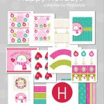 free happy holiday christmas party printables