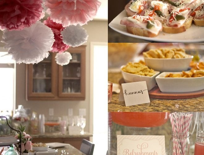 Pink and Grey: Baby Girl Shower (+ Freebie!)