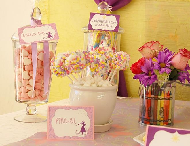 Rapunzel Art Party Pictures 2