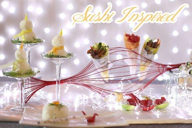 sushi holiday party