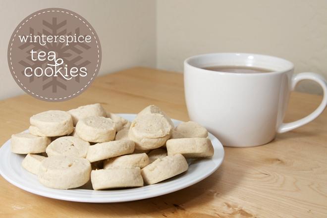 tea cookies for christmas