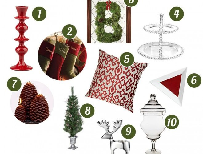 Top 10 Holiday Decorating Must-Haves + Win American Express Gift Card!