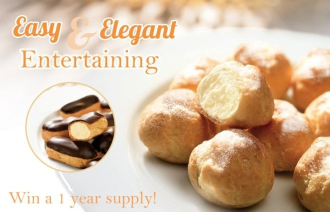{Giveaway} Win a year's supply of Delizza's Desserts!