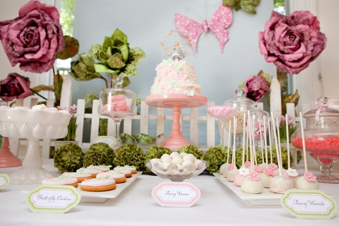 A Darling Fairy Garden Birthday Party!