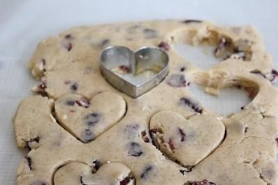 valentine's day cookie pops