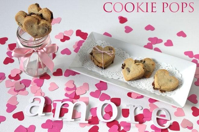 Valentine's Day Cookie Pops Tutorial
