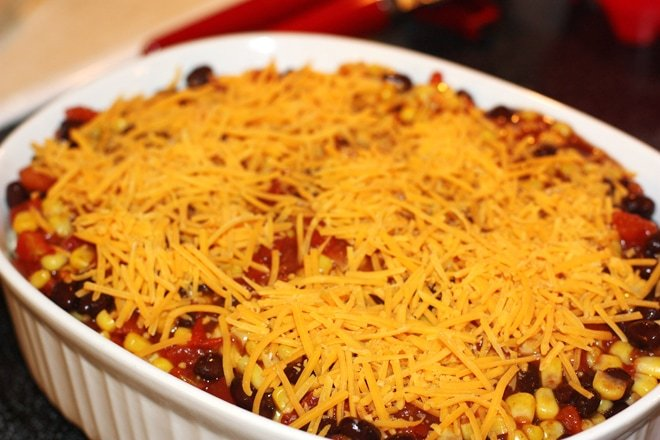 bean enchillada casserole from conagra and kroger 2