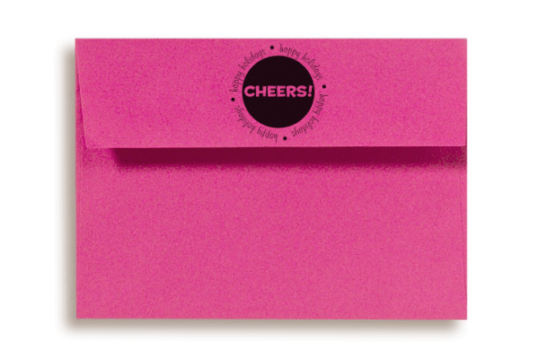 CHEERS RUBBER STAMP