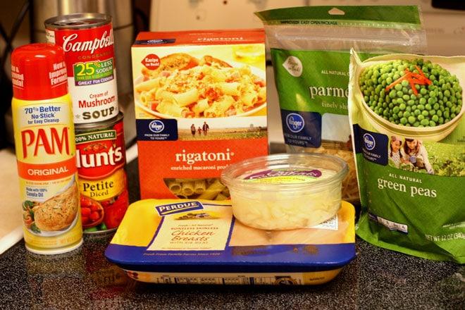 creamy chicken pasta skillet