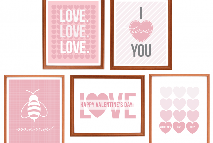{Freebie Art} Valentine's Day Prints!