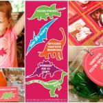 {Freebie} Dinosaur Valentine's Day Party