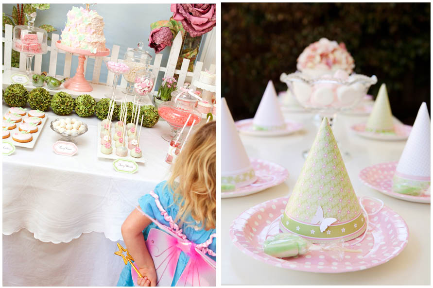 A Darling Fairy Garden Birthday Party Pizzazzerie