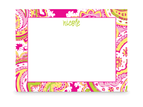 cute personalized stationery