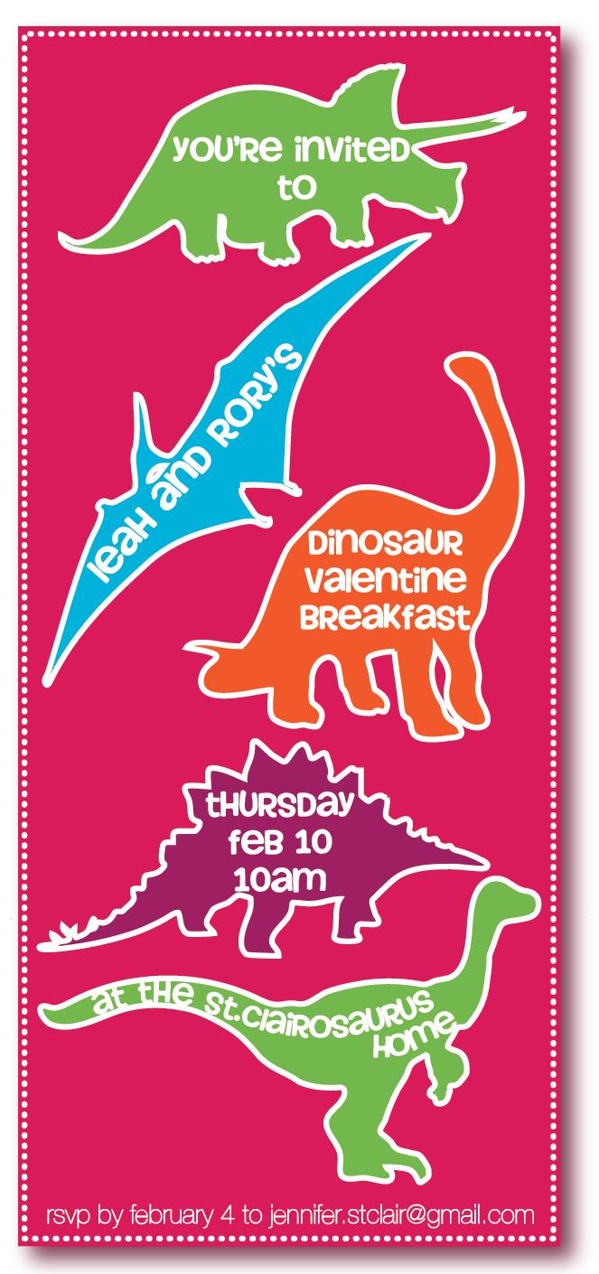 Freebie Dinosaur Valentine S Day Party Pizzazzerie