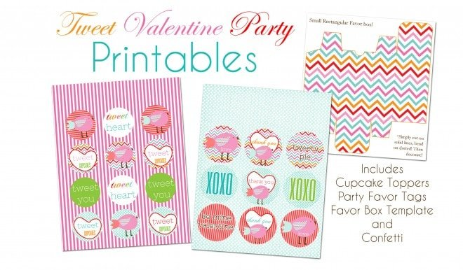 {FREE} Tweet Valentine's Day Printables!