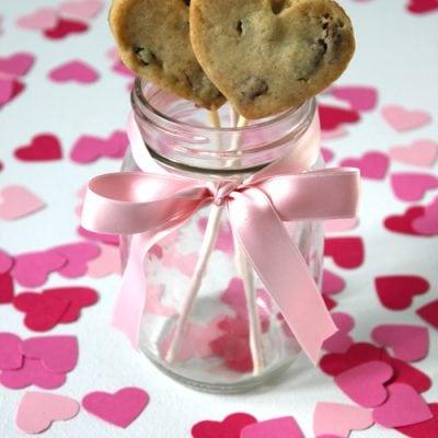 Valentine's Day Cookie Pop