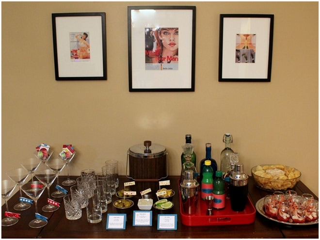 AMCs Mad Men Inspired Birthday Party
