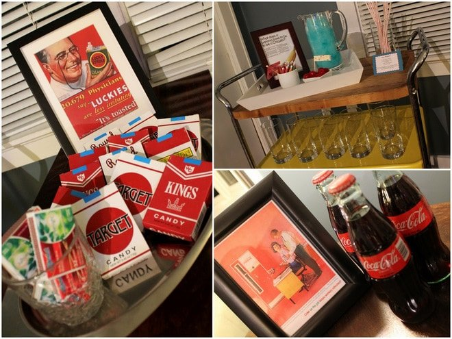 AMC's Mad Men Inspired Birthday Party!