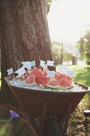 Southern Watermelon at Wedding