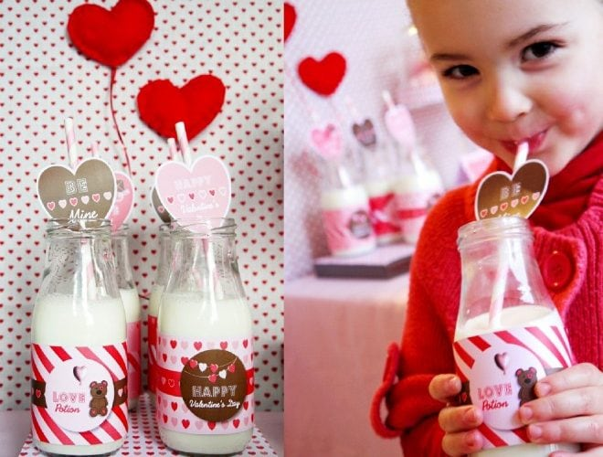 Milk and Cookies Valentine's Day Party!