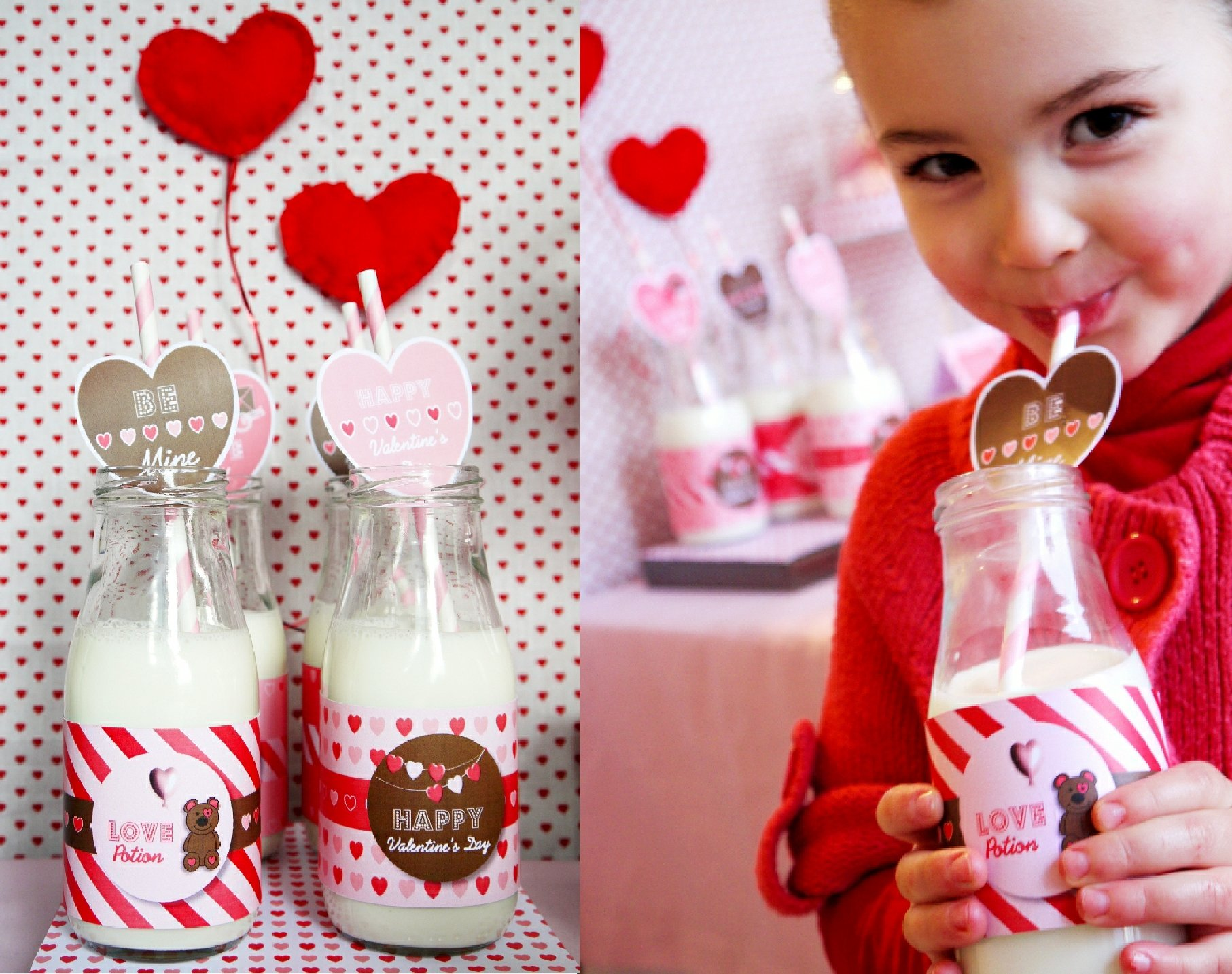 Milk And Cookies Valentine S Day Party Pizzazzerie
