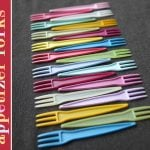 {Party Find} Colorful Appetizer Forks