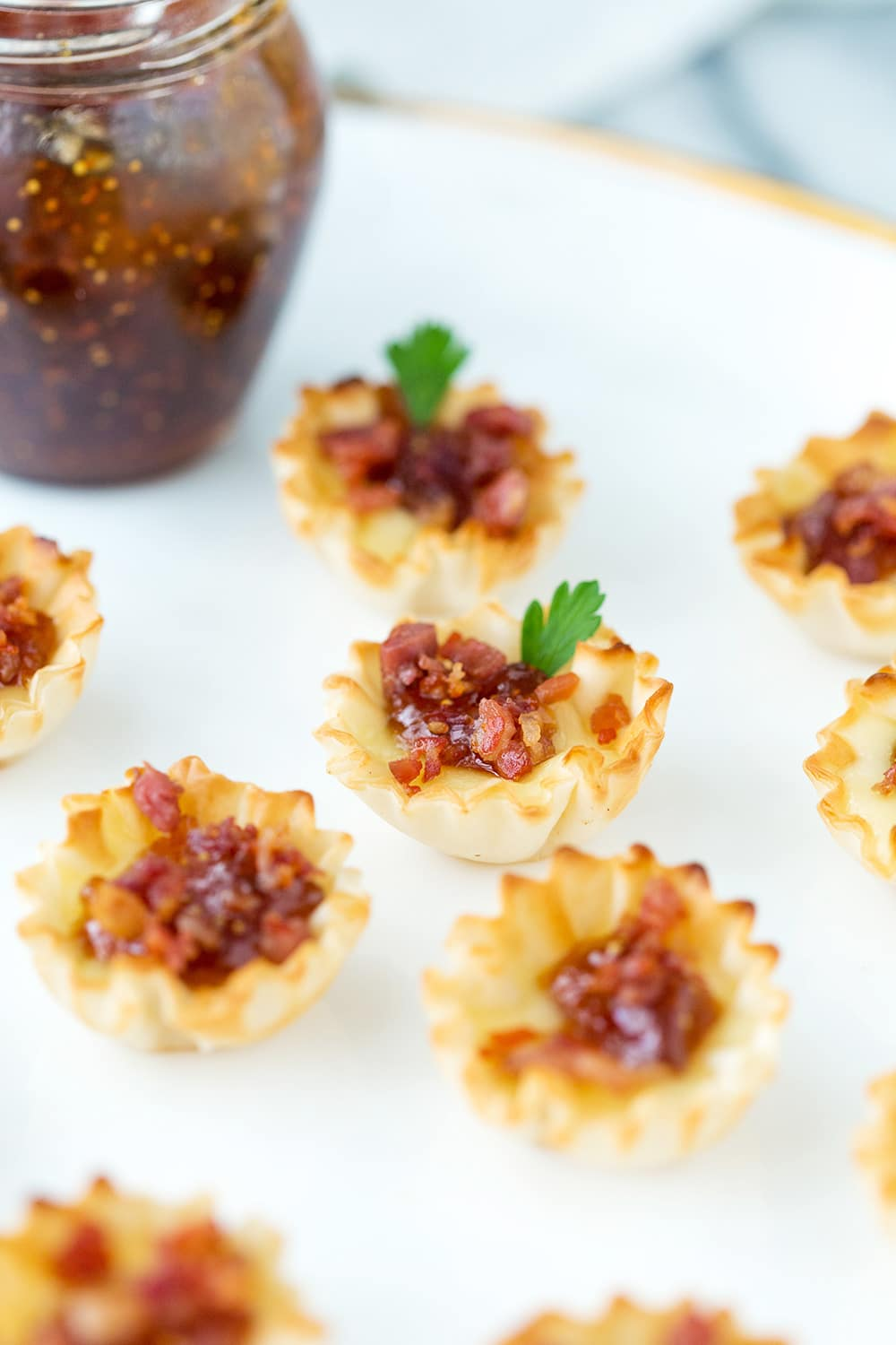 Baked Brie Fig Jam