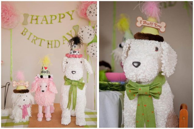 Adorable Dog Themed Birthday Party Pizzazzerie