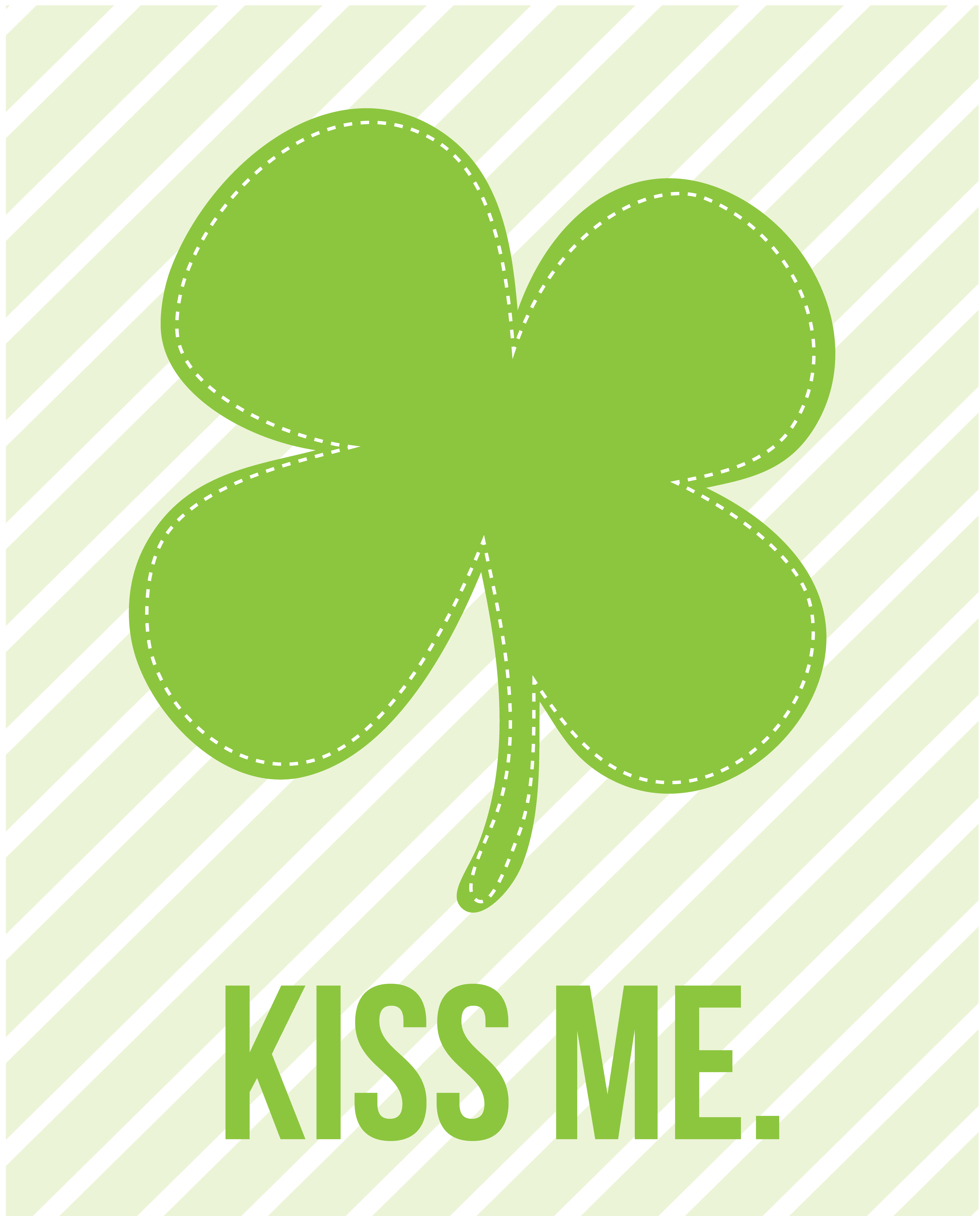 image relating to St Patrick's Day Clover Printable named Freebie St.Patricks Working day Artwork Prints! Pizzazzerie