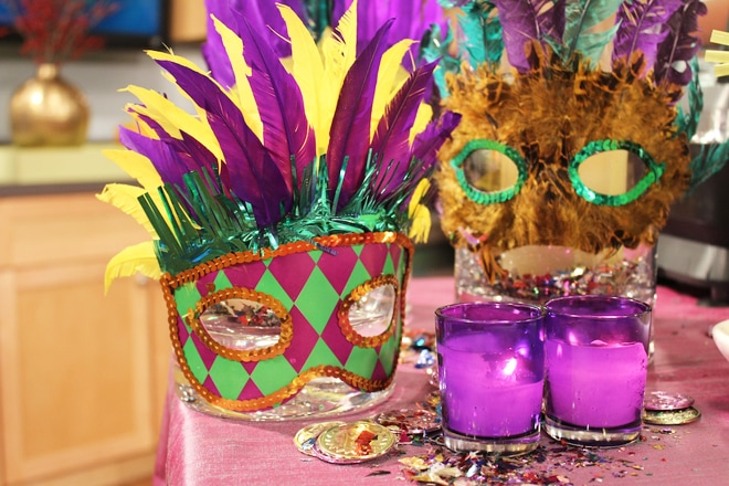 Mardi Gras Party, Printables, + Recipes!