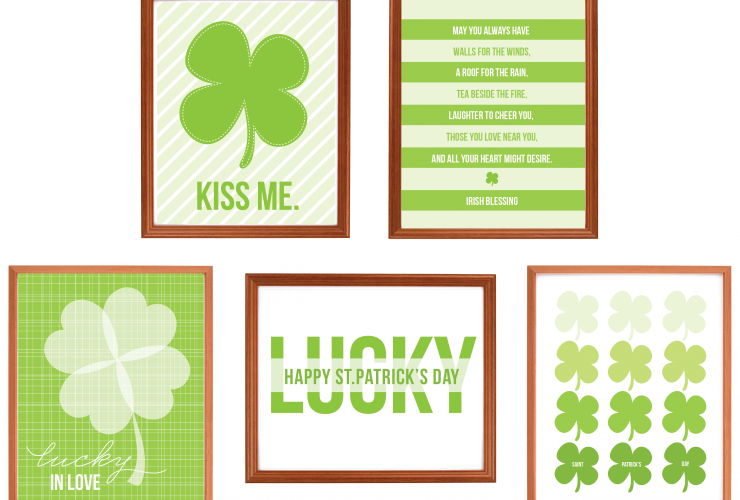 {Freebie} St.Patrick's Day Art Prints!