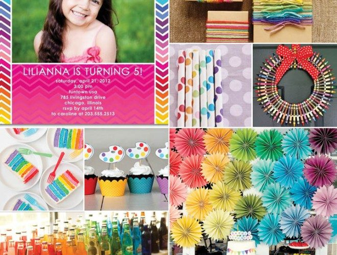Rainbow Birthday Party Inspiration!