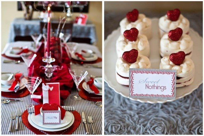 """Love Letters"" Valentine's Dinner Party & Free Printables!"