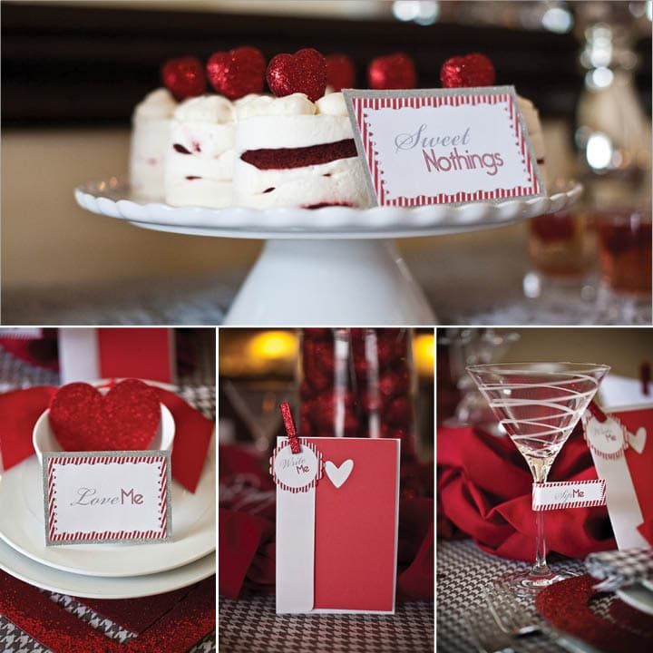 valentine's day 2012 dinner party