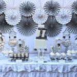 winter silver birthday party 3