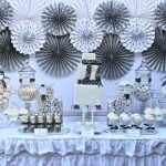 winter silver birthday party 3