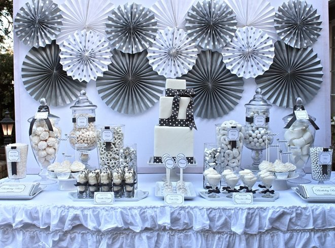 Silver & White 25th Birthday Celebration!