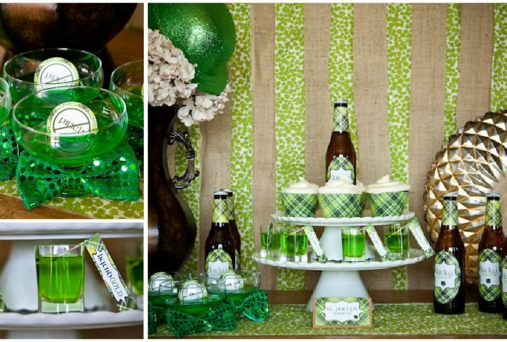 St. Patrick's Day Party Ideas + Free Printables