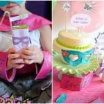 adorable girly super hero birthday party picture 5